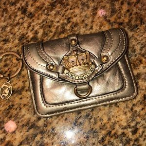 Juicy couture coin purse-wallet